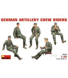 1:35 Германски артилерийски екипаж - 5 фигури
