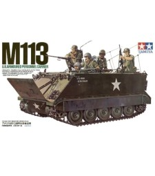 1:35 Бронетранспонтьор U.S. M113 A.P.C. - 6 фигури