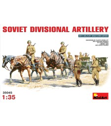 1:35 Съветска дивизионна артилерия - 13 фигури