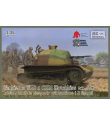 1:35 Танкета TKS с картечница