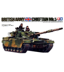 1:35 Британски танк Chieftain Mk. 5 (British Chieftain Mk. 5 Tank) - 3 фигури