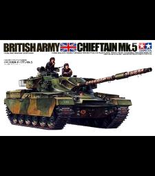 1:35 Br. Chieftain Mk. 5 Tank - 3 figures