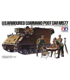 1:35 US M577 Armoured Command Post Car - 4 фигури