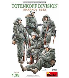 1:35 Тотенкопф дивизия (Харков 1943 ) - 5 фигури