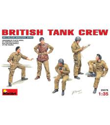 1:35 Британски танков екипаж (British Tank Crew) - 5 фигури