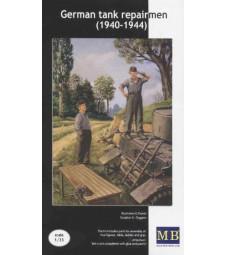 1:35 Германски техници (1940-1944) - 2 фигури