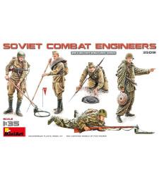 1:35 Съветски военни инженери - 5 фигури (Soviet Combat Engineers)