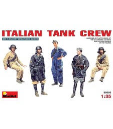1:35 Италиански танков екипаж - 5 фигури
