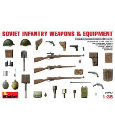 1:35 Съветско пехотно снаряжение и екипировка