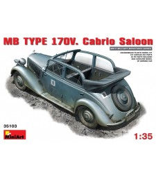 1:35 Автомобил МБ Тип 170V Кабрио Салон (MB TYPE 170V Cabrio Saloon)