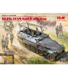 1:35 Sd.Kfz.251/6 Ausf.A with Crew