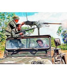 "1:35 ""Враг от ляво"" серия Виетнамска война - 3 фигури (Charlie on the left!!! Vietnam war kit series - 3 figures)"