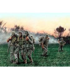 "1:35 ""Към Хеликоптера"" - Виетнамска война - 5 фигури (Head for the Huey"", Vietnam War series"" - 5 figures)"