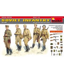 1:35 Съветска пехота, специално издание - 5 фигури