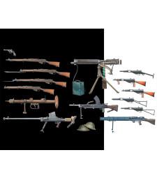1:35 Британски пехотни оръжия от Втората световна война  (British Infantry Weapons, WW II era)