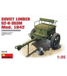 1:35 Съветско ремарке 52-Р-353М, модел 1942 (Soviet Limber 52-R-353M Mod.1942)