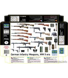 1:35 Германски пехотни оръжия от втората световна война (German Infantry Weapons, WW II era)