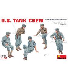 1:35 Американски танков екипаж - 5 фигури (U.S. Tank Crew)