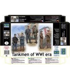 1:35 Танкисти от първата световна войана - 6 фигури (Tankmen of WWI era  - 6 figures)