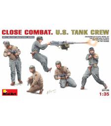 1:35 Танков екипаж на САЩ, близък бой - 5 фигури