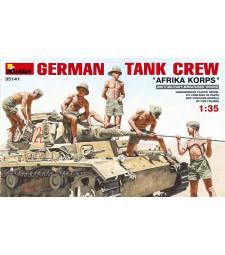 "1:35 Германски танков екипаж ""Африкански части"" - 5 фигури"