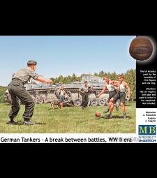 1:35 Немски танкисти - Почивка между битките, ВСВ - 5 фигури