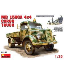 1:35 MB L1500 Товарен камион 4x4 - 5 фигури