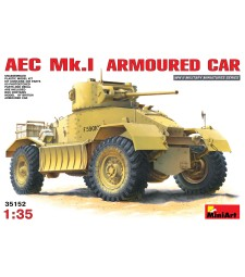 1:35 Бронирана кола AEC Mk 1 Armoured Car