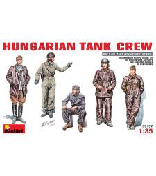 1:35 Унгарски танков екипаж - 5 фигури