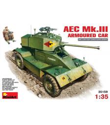 1:35 Бронирана кола AEC Mk 3 - 1 фигура