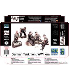 1:35 Германски танков екипаж от втората световна война - 5 фигури (German Tankmen, WWII era  - 5 figures)