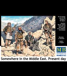 1:35 Някъде в Близкия изток. Наши дни - 5 фигури