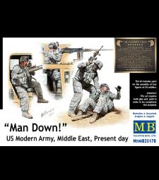 1:35 Ранен! Армия на САЩ, Близкия изток, Наши дни - 4 фигури