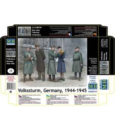 1:35 Волкщурм, Германия 1944-1945 - 5 фигури (Volkssturm, Germany, 1944-1945  - 5 figures)