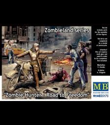 1:35 Ловец на зомбита - пътят към свободата, Серия Зомбиленд - 4 фигури