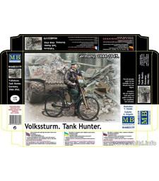 1:35 Волкщурм, унищожител на танкове - 1 фигура (Volkssturm. Tank Hunter. Germany, 1944-1945  - 1 figures)