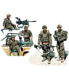 1:35 Съвременна британска пехота - 5 фигури (Modern UK Infantrymen, present day - 5 figures)