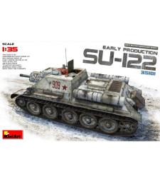 1:35 Съветски танк SU-122 (ранно производство)