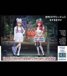 1:35 Модните лидери на Каваи. Минами и Май - 2 фигури