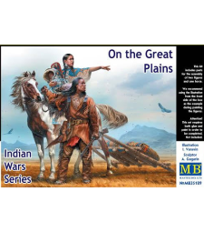 1:35 Indian Wars Series. On the Great Plains - 2 figures