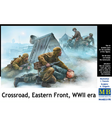 1:35 Crossroad, Eastern Front, WWII era - 2 figures