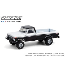 All-Terrain Series 11 - 1976 Ford F-250 with Off-Road Parts - Black and White Solid Pack