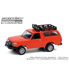 All-Terrain Series 11 - 1995 Ford Bronco Sport with Off-Road Parts - Orange Solid Pack
