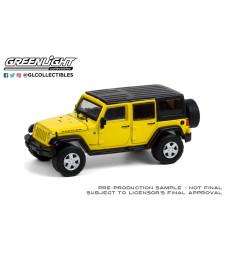 All-Terrain Series 11 - 2008 Jeep Wrangler Unlimited Rubicon - Detonator Yellow Solid Pack