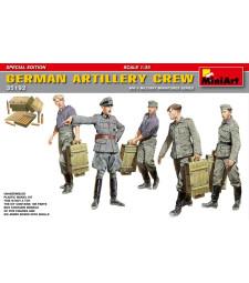1:35 Германски артилеристи (German Artillery Crew - Special Edition) - 5 фигури, специално издание