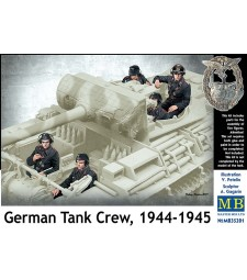 1:35 German Tank Crew, 1944-1945 - 5 figures