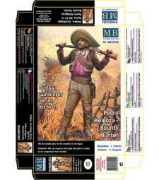 "1:35 Серия ""Стрелец"", Педро Мелгоза - ловец на глави - 1 фигура (Outlow. Gunslinger series. Kit No. 3. Pedro Melgoza - Bounty Hunter  - 1 figures)"