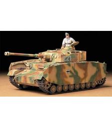 1:35 Германски танк ранна версия German Panzerkampfwagen IV Ausf.H Early Version - 1 фигура