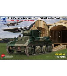 1:35 Лек танк A17 Vickers Tetrarch MkI - MkICS