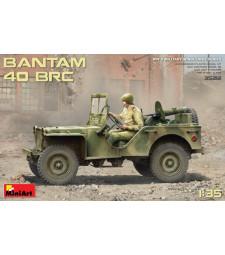1:35 Американски военен автомобил Bantam 40 BRC - в комплект с 5 фигури